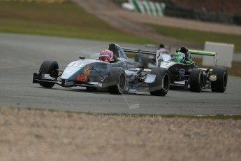 World © Octane Photographic Ltd. 2013 Protyre Formula Renault Championship – Donington Park, Sunday 14th April 2013 - Race 2.  Shahan Sarkissian - MTECH Lite. Digital ref : 0635lw1d3690