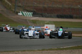 World © Octane Photographic Ltd. 2013 Protyre Formula Renault Championship – Donington Park, Sunday 14th April 2013 - Race 2. Jorge Cevallos - MGR Motorsport. Digital ref : 0635lw1d3874