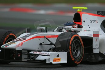 World © Octane Photographic Ltd. GP2 Winter testing, Barcelona, Circuit de Catalunya, 5th March 2013. Rapax – Simon Trummer. Digital Ref: 0585cb1d2185