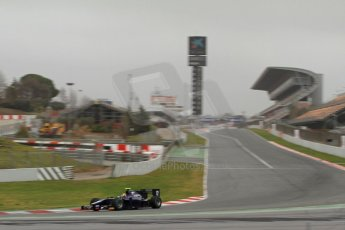 World © Octane Photographic Ltd. GP2 Winter testing, Barcelona, Circuit de Catalunya, 5th March 2013. RUSSIAN TIME – Tom Dillmann. Digital Ref: 0585cb7d1144