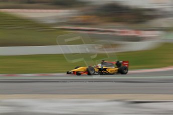 World © Octane Photographic Ltd. GP2 Winter testing, Barcelona, Circuit de Catalunya, 5th March 2013. DAMS – Marcus Ericsson. Digital Ref: 0585cb7d1178