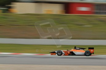 World © Octane Photographic Ltd. GP2 Winter testing, Barcelona, Circuit de Catalunya, 5th March 2013. MP Motorsport – Adrian Quaife-Hobbs. Digital Ref: 0585cb7d1219