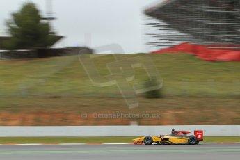 World © Octane Photographic Ltd. GP2 Winter testing, Barcelona, Circuit de Catalunya, 5th March 2013. DAMS – Stephane Richelmi. Digital Ref: 0585cb7d1318
