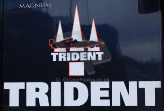 World © Octane Photographic Ltd. GP2 Winter testing, Barcelona, Circuit de Catalunya, 5th March 2013. Trident Racing logo. Digital Ref: 0585cb7d1477
