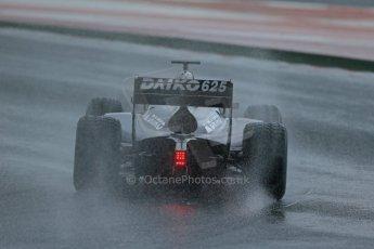 World © Octane Photographic Ltd. GP2 Winter testing, Barcelona, Circuit de Catalunya, 5th March 2013. Venezuela GP Lazarus – Rene Binder. Digital Ref: 0585lw1d1415