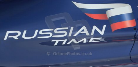 World © Octane Photographic Ltd. GP2 Winter testing, Barcelona, Circuit de Catalunya, 5th March 2013. RUSSIAN TIME logo. Digital Ref:  0585lw1d1840