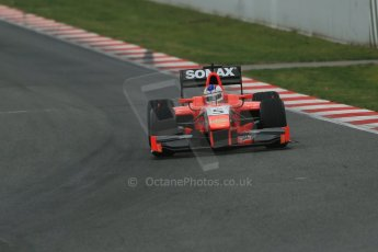 World © Octane Photographic Ltd. GP2 Winter testing, Barcelona, Circuit de Catalunya, 5th March 2013. Arden – Johnny Cecotto. Digital Ref: 0585lw1d1843