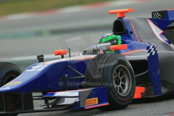 World © Octane Photographic Ltd. GP2 Winter testing, Barcelona, Circuit de Catalunya, 5th March 2013. Hilmer Motorsport – Conor Daly. Digital Ref: 0585lw1d2098