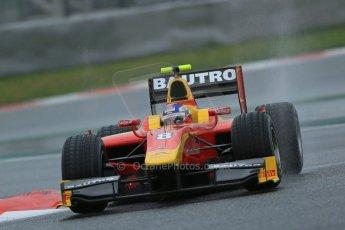 World © Octane Photographic Ltd. GP2 Winter testing, Barcelona, Circuit de Catalunya, 6th March 2013. Racing Engineering – Fabio Leimer. Digital Ref: 0586lw1d2268