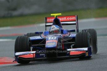 World © Octane Photographic Ltd. GP2 Winter testing, Barcelona, Circuit de Catalunya, 6th March 2013. Carlin – Jolyon Palmer. Digital Ref: 0586lw1d2496