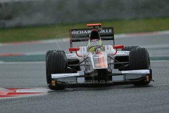 World © Octane Photographic Ltd. GP2 Winter testing, Barcelona, Circuit de Catalunya, 6th March 2013. ART Grand Prix – Daniel Abt. Digital Ref: 0586lw1d2589