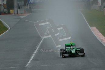World © Octane Photographic Ltd. GP2 Winter testing, Barcelona, Circuit de Catalunya, 6th March 2013. Caterham Racing – Ma Qing Hua. Digital Ref: 0586lw1d2769