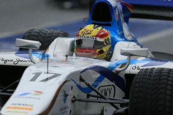 World © Octane Photographic Ltd. GP2 Winter testing, Barcelona, Circuit de Catalunya, 6th March 2013. Barwa Addax Team – Rio Haryanto. Digital Ref:  0586lw1d2979