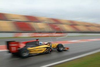 World © Octane Photographic Ltd. GP2 Winter testing, Barcelona, Circuit de Catalunya, 6th March 2013. DAMS – Marcus Ericsson. Digital Ref: 0586lw7d1519
