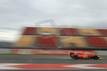ld © Octane Photographic Ltd. GP2 Winter testing, Barcelona, Circuit de Catalunya, 6th March 2013. Racing Engineering – Julien Leal. Digital Ref: 0586lw7d1528