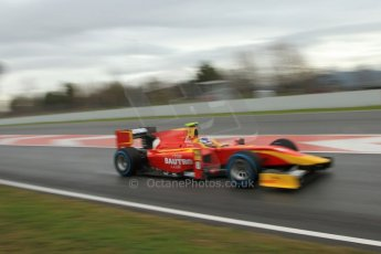 World © Octane Photographic Ltd. GP2 Winter testing, Barcelona, Circuit de Catalunya, 6th March 2013. Racing Engineering – Fabio Leimer. Digital Ref: 0586lw7d1535