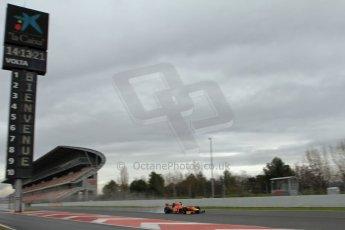 World © Octane Photographic Ltd. GP2 Winter testing, Barcelona, Circuit de Catalunya, 6th March 2013. Racing Engineering – Julien Leal. Digital Ref: 0586lw7d1581