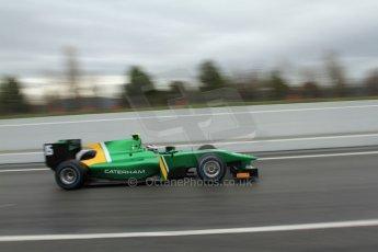 World © Octane Photographic Ltd. GP2 Winter testing, Barcelona, Circuit de Catalunya, 6th March 2013. Caterham Racing – Ma Qing Hua. Digital Ref: 0586lw7d1623