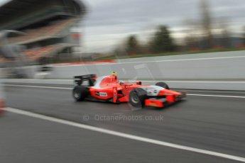 World © Octane Photographic Ltd. GP2 Winter testing, Barcelona, Circuit de Catalunya, 6th March 2013. Arden – Mitch Evans. Digital Ref: 0586lw7d1673
