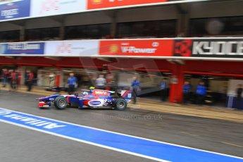 World © Octane Photographic Ltd. GP2 Winter testing, Barcelona, Circuit de Catalunya, 6th March 2013. Carlin – Jolyon Palmer. Digital Ref: 0586lw7d1957