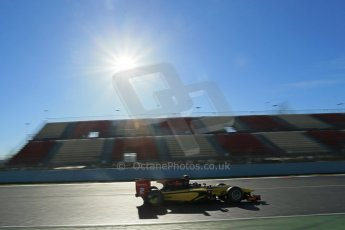 World © Octane Photographic Ltd. GP2 Winter testing, Barcelona, Circuit de Catalunya, 7th March 2013. DAMS – Stephane Richelmi. Digital Ref: 0587lw1d3192