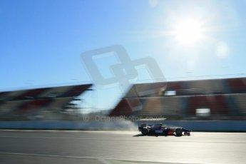 World © Octane Photographic Ltd. GP2 Winter testing, Barcelona, Circuit de Catalunya, 7th March 2013. Hilmer Motorsport – Pal Varhaug. Digital Ref: 0587lw1d3222