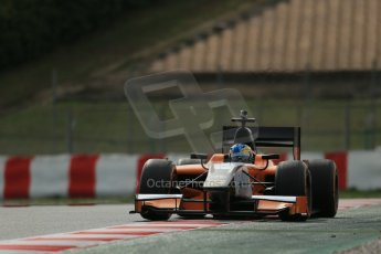 World © Octane Photographic Ltd. GP2 Winter testing, Barcelona, Circuit de Catalunya, 7th March 2013. MP Motorsport – Adrian Quaife-Hobbs. Digital Ref: 0587lw1d3680