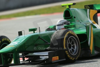 World © Octane Photographic Ltd. GP2 Winter testing, Barcelona, Circuit de Catalunya, 7th March 2013. Caterham Racing – Ma Qing Hua. Digital Ref:  0587lw1d3836