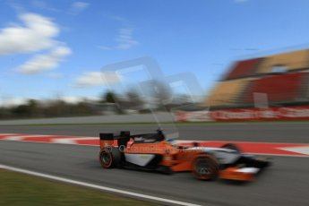 World © Octane Photographic Ltd. GP2 Winter testing, Barcelona, Circuit de Catalunya, 7th March 2013. MP Motorsport – Adrian Quaife-Hobbs. Digital Ref: 0587lw7d2132