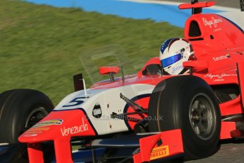 World © Octane Photographic Ltd. GP2 Winter testing, Jerez, 26th February 2013. Arden – Johnny Cecotto. Digital Ref: 0580cb1d5667