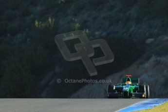 World © Octane Photographic Ltd. GP2 Winter testing, Jerez, 26th February 2013. Caterham Racing – . Digital Ref: 0580cb1d5778