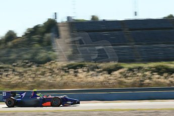 World © Octane Photographic Ltd. GP2 Winter testing, Jerez, 26th February 2013. Hilmer Motorsport – Pal Varhaug. Digital Ref: 0580cb1d6218