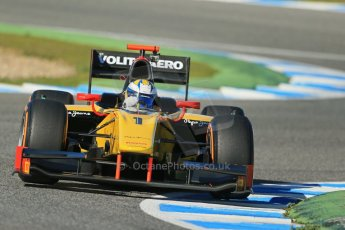 World © Octane Photographic Ltd. GP2 Winter testing, Jerez, 26th February 2013. DAMS – Marcus Ericsson. Digital Ref: 0580cb1d6405