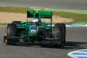 World © Octane Photographic Ltd. GP2 Winter testing, Jerez, 26th February 2013. Caterham Racing – . Digital Ref: 0580cb1d6415
