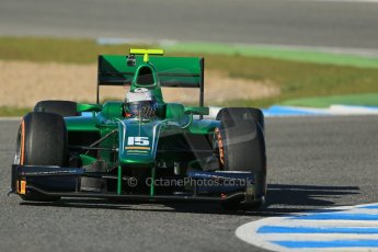 World © Octane Photographic Ltd. GP2 Winter testing, Jerez, 26th February 2013. Caterham Racing – . Digital Ref: 0580cb1d6474