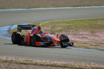 World © Octane Photographic Ltd. GP2 Winter testing, Jerez, 26th February 2013. Arden – Mitch Evans. Digital Ref: 0580lw1d6623