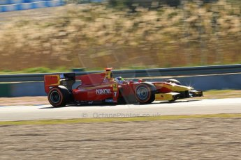 World © Octane Photographic Ltd. GP2 Winter testing, Jerez, 26th February 2013. Racing Engineering – Julien Leal. Digital Ref: 0580lw7d0058