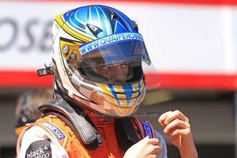 World © Octane Photographic Ltd. GP2 Monaco GP, Monte Carlo, Thursday 23rd May 2013. Practice and Qualifying. Adrian Quaife-Hobbs -  MP Motorsport. Digital Ref : 0693cb7d0812