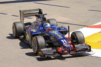 World © Octane Photographic Ltd. GP2 Monaco GP, Monte Carlo, Thursday 23rd May 2013. Practice and Qualifying. Sam Bird – Russian TIME. Digital Ref : 0693cb7d0858