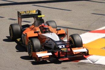 World © Octane Photographic Ltd. GP2 Monaco GP, Monte Carlo, Thursday 23rd May 2013. Practice and Qualifying. Daniel De Jong - MP Motorsport. Digital Ref : 0693cb7d0887