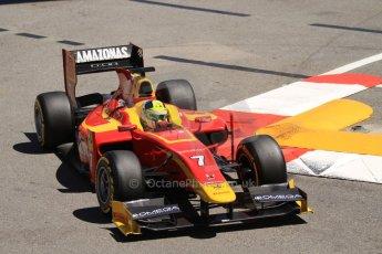 World © Octane Photographic Ltd. GP2 Monaco GP, Monte Carlo, Thursday 23rd May 2013. Practice and Qualifying. Julián Leal - Racing Engineering. Digital Ref: 0693cb7d0891