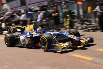 World © Octane Photographic Ltd. GP2 Monaco GP, Monte Carlo, Thursday 23rd May 2013. Practice and Qualifying. Felipe Nasr - Carlin. Digital Ref : 0693cb7d0972