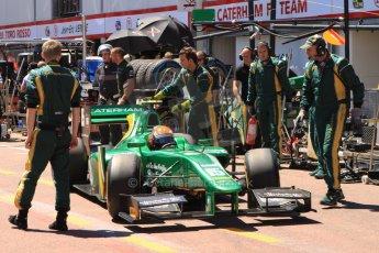 World © Octane Photographic Ltd. GP2 Monaco GP, Monte Carlo, Thursday 23rd May 2013. Practice and Qualifying. Alexander Rossi – EQ8 Caterham Racing. Digital Ref : 0693cb7d0982