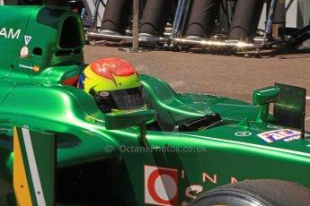 World © Octane Photographic Ltd. GP2 Monaco GP, Monte Carlo, Thursday 23rd May 2013. Practice and Qualifying. Sergio Canamasas – EQ8 Caterham Racing. Digital Ref: 0693cb7d0990