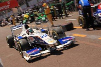 World © Octane Photographic Ltd. GP2 Monaco GP, Monte Carlo, Thursday 23rd May 2013. Practice and Qualifying. Nathanaël Berthon - Trident Racing. Digital Ref : 0693cb7d1011