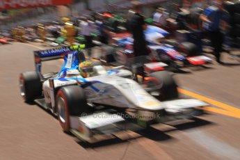 World © Octane Photographic Ltd. GP2 Monaco GP, Monte Carlo, Thursday 23rd May 2013. Practice and Qualifying. Rio Haryanto - Barwa Addax Team. Digital Ref : 0693cb7d1017