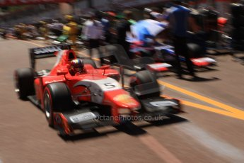 World © Octane Photographic Ltd. GP2 Monaco GP, Monte Carlo, Thursday 23rd May 2013. Practice and Qualifying. Johnny Cecotto – Arden International. Digital Ref : 0693cb7d1019