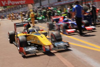 World © Octane Photographic Ltd. GP2 Monaco GP, Monte Carlo, Thursday 23rd May 2013. Practice and Qualifying. Marcus Ericsson - DAMS. Digital Ref : 0693cb7d1021