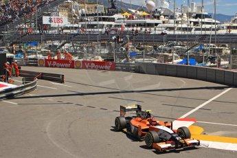World © Octane Photographic Ltd. GP2 Monaco GP, Monte Carlo, Thursday 23rd May 2013. Practice and Qualifying. Daniel De Jong - MP Motorsport. Digital Ref : 0693cb7d1051