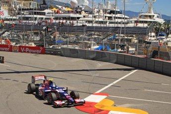World © Octane Photographic Ltd. GP2 Monaco GP, Monte Carlo, Thursday 23rd May 2013. Practice and Qualifying. Jolyon Palmer - Carlin. Digital Ref : 0693cb7d1060